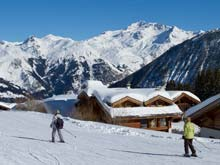 Ski tuition in Meribel / Les Trois Vallees with MH2ski British instructors