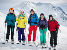 Ski lessons for individuals and small groups with MH2 ski in Meribel 3 Valleys France
