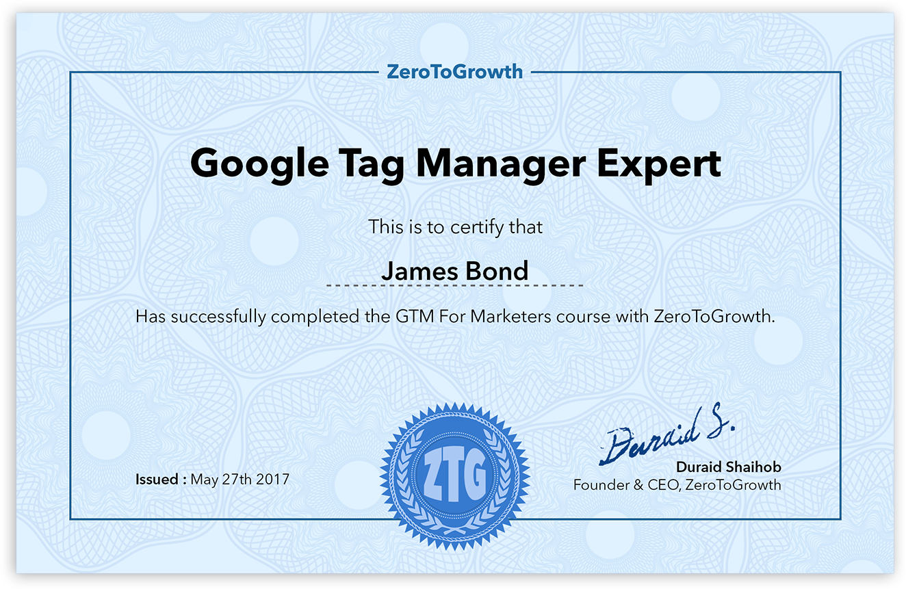 Become A Google Tag Manager Expert Zerotogrowth