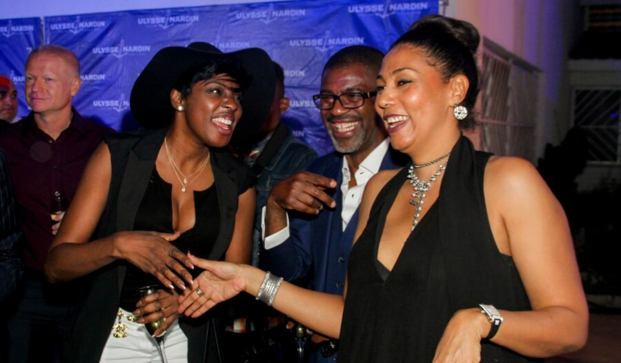 ulysse nardin opening event in nigeria