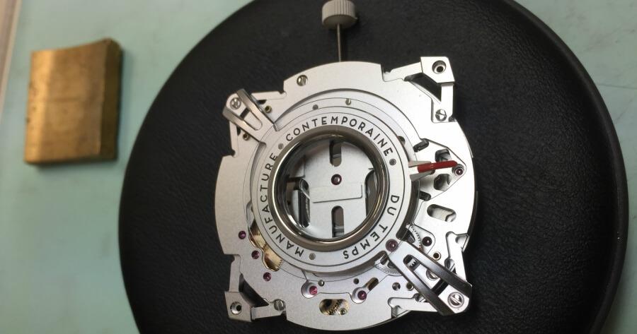 assembling MCT Dodekal watch