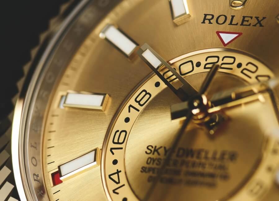 rolex sky dweller dial