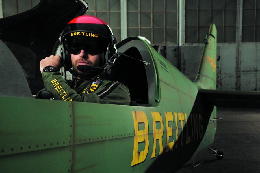 Mika Brageot Breitling Colt Skyracer