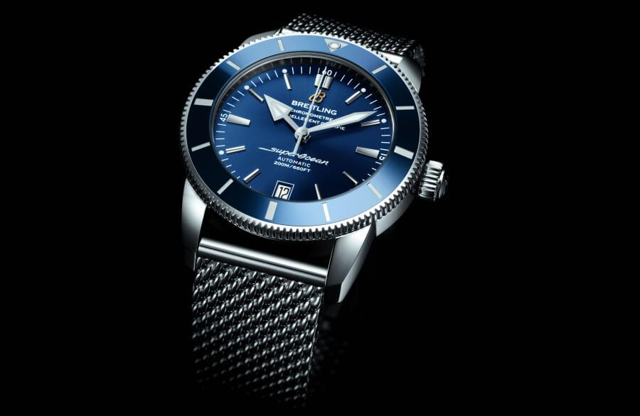 Breitling Superocean Heritage II blue dial