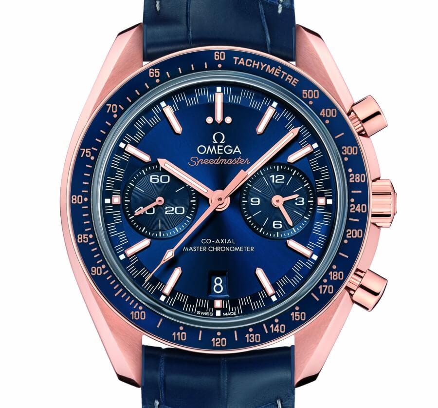 Omega Speedmaster Racing Master Chronometer Gold