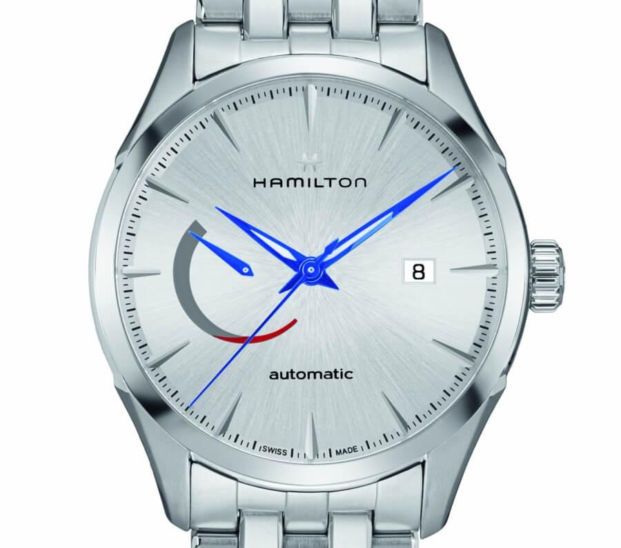 hamilton jazzmaster steel bracelet