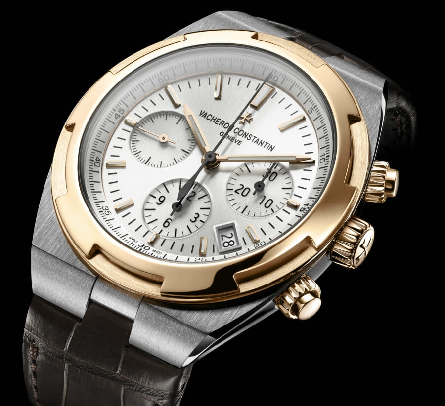 vacheron constantin chronograph gold bezel