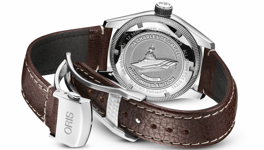 PA Charles de Gaulle Oris Limited Edition