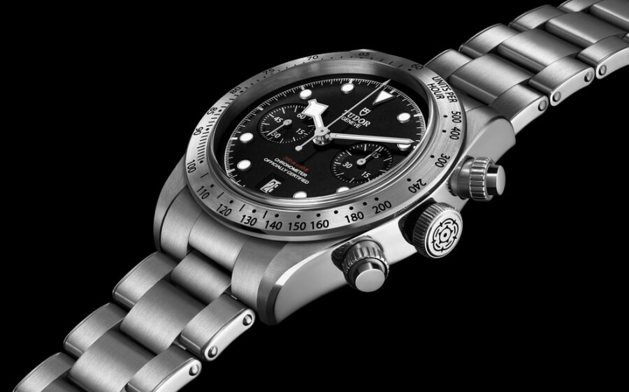 Tudor Heritage Black Bay Chrono with Bracelet