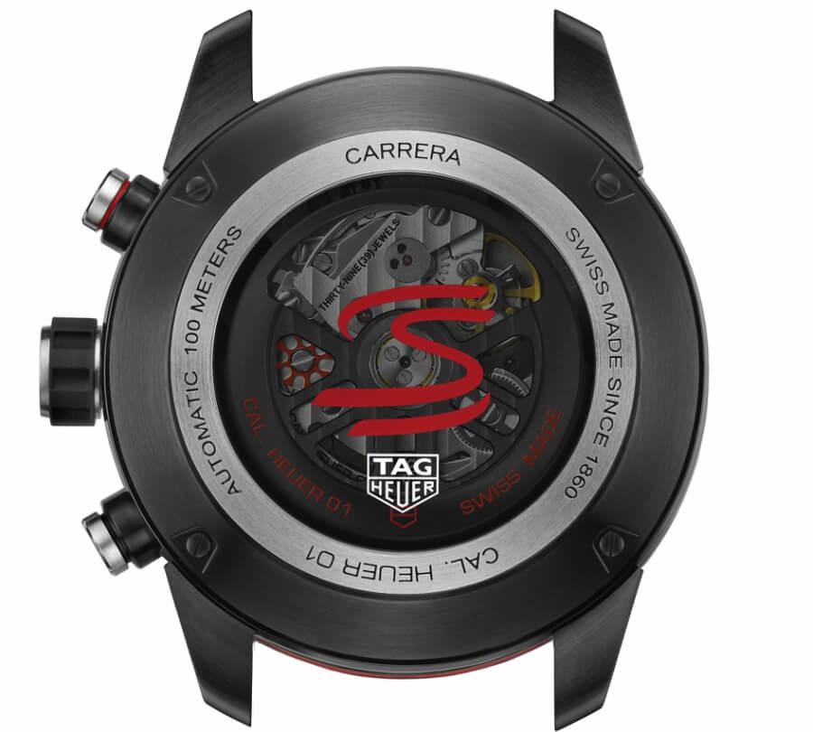 Carrera Heuer-01 chronograph