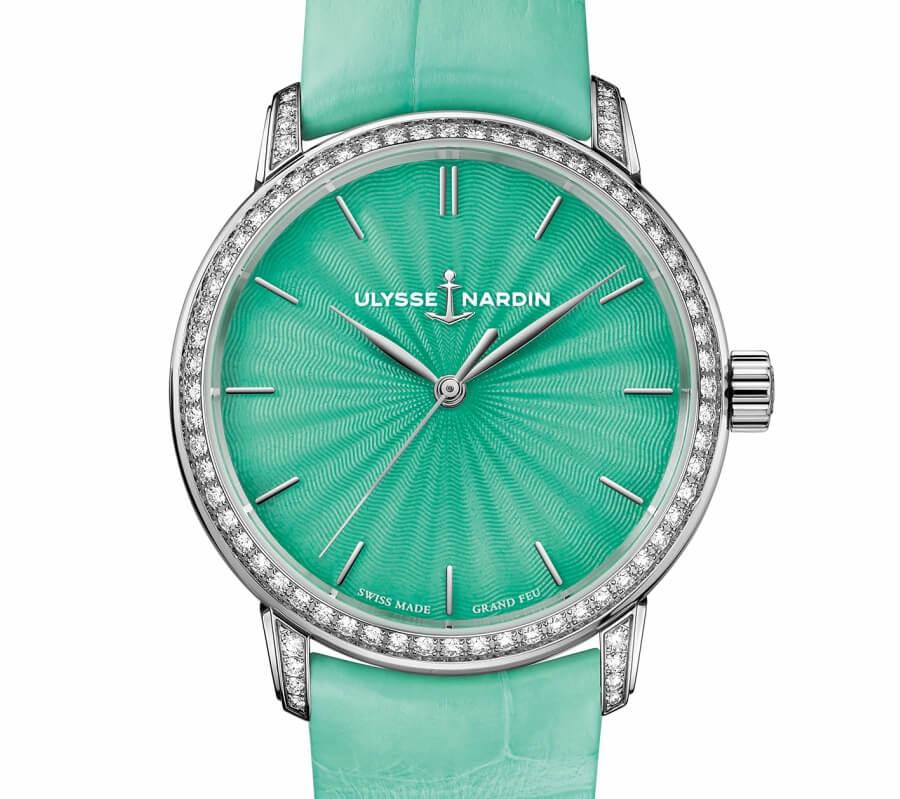 Ulysse Nardin Classico Lady Grand Feu Green Dial