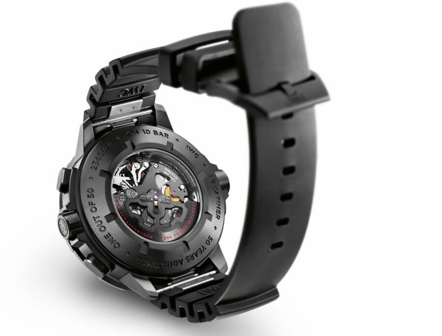 IWC Schaffhausen Ceratanium watch case