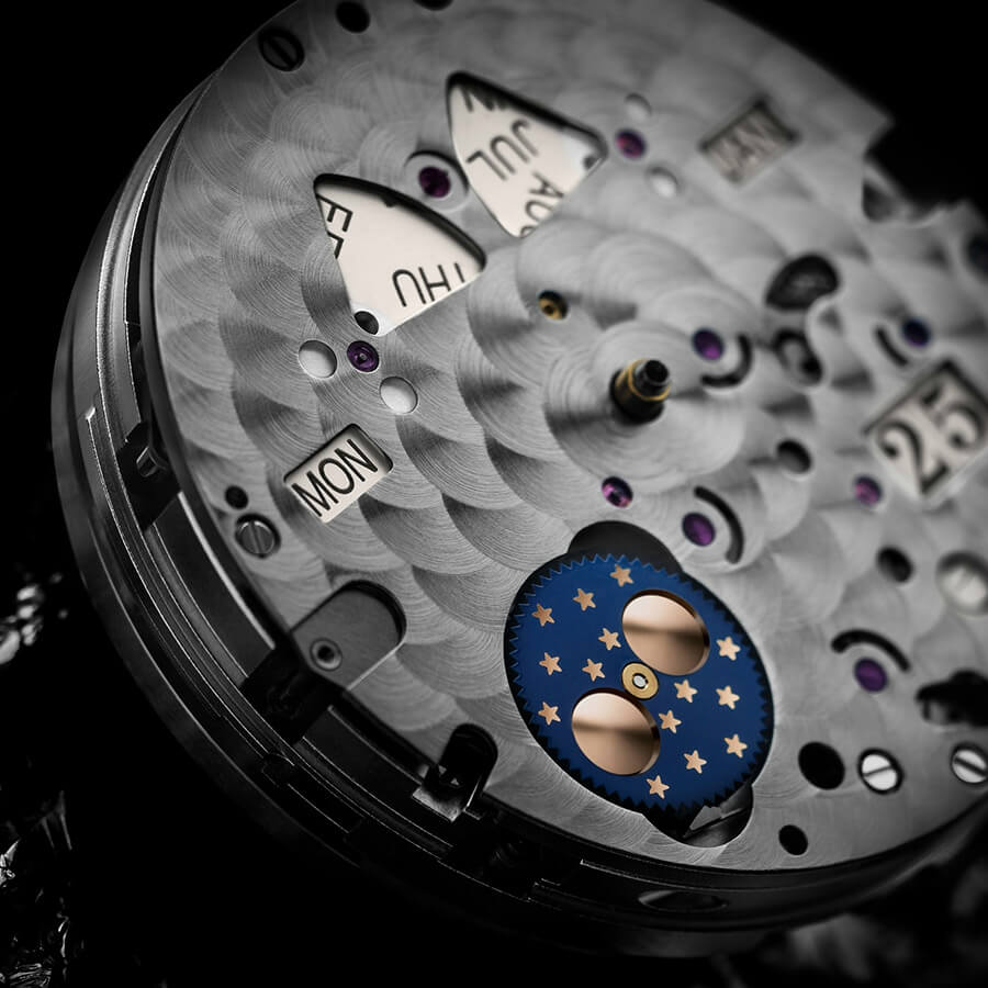Glashutte Senator Moon Phase