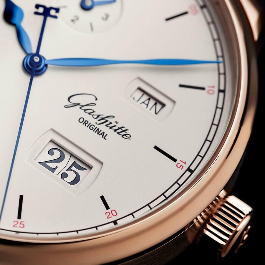 Glashutte Senator Excellence Perpetual Calendar Dial