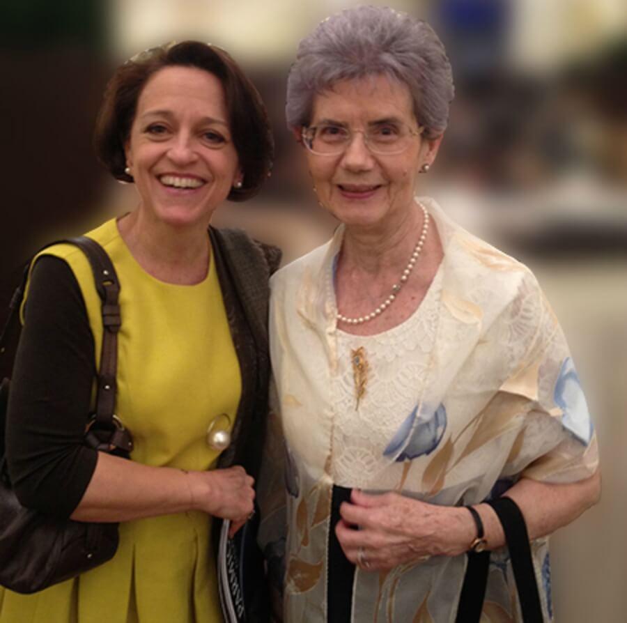 Suzanne Rohr and Anita Porchet