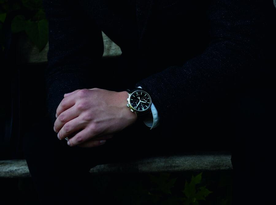 Glashutte Original Watch Wearing