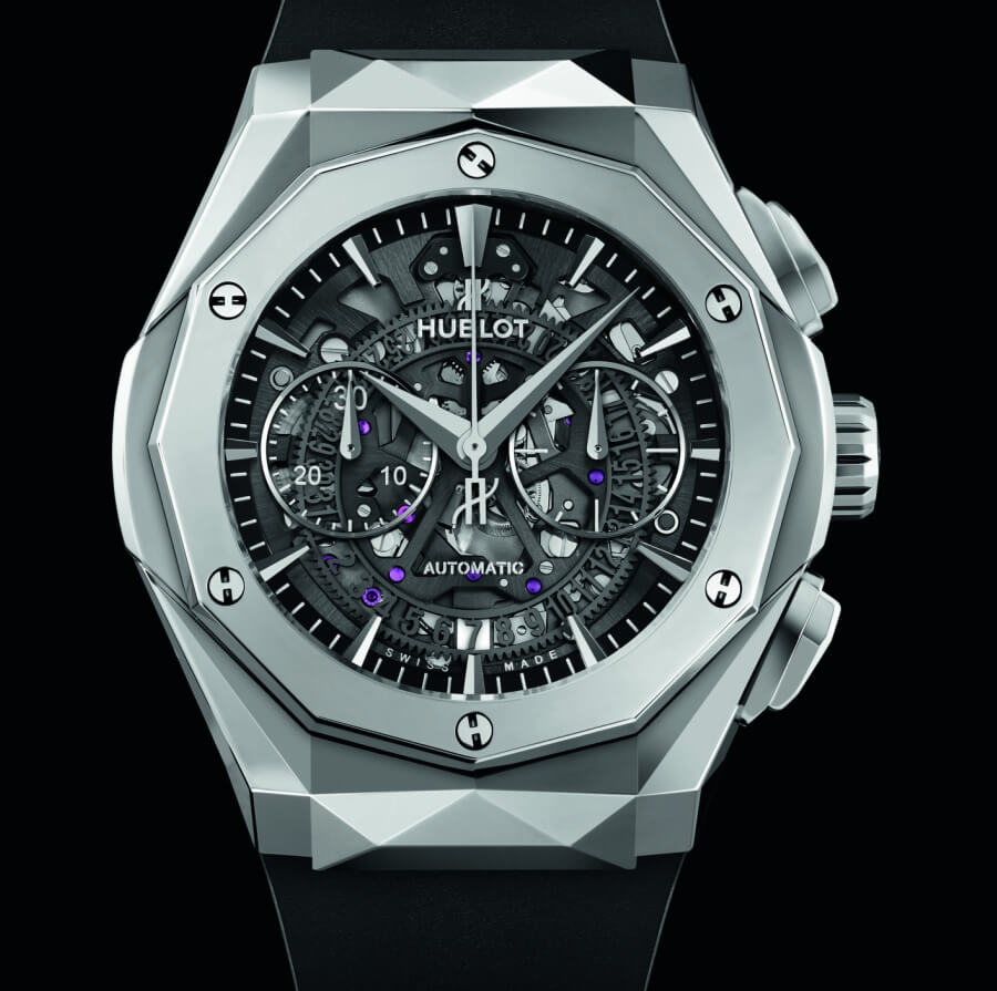 Hublot Classic Fusion Chronograph Watch Review