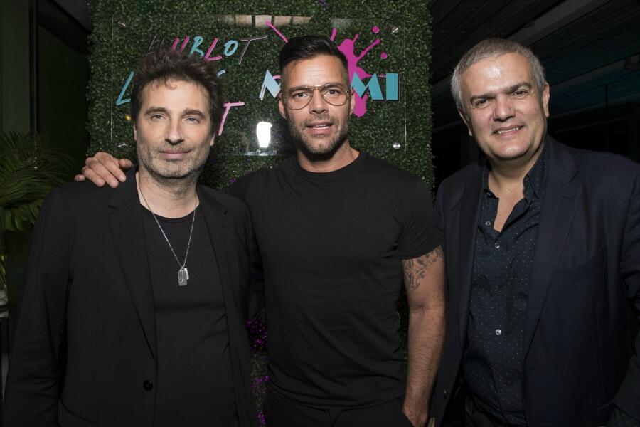 Ricky Martin and Hublot