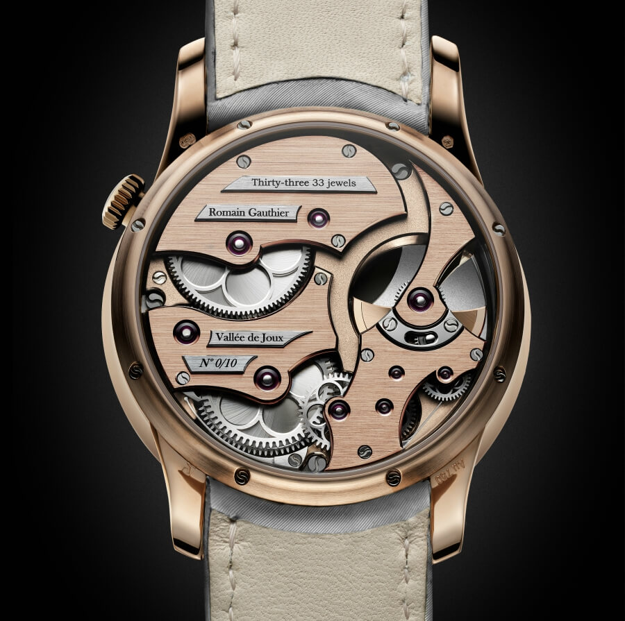 Romain Gauthier Insight Micro-Rotor Lady Movement