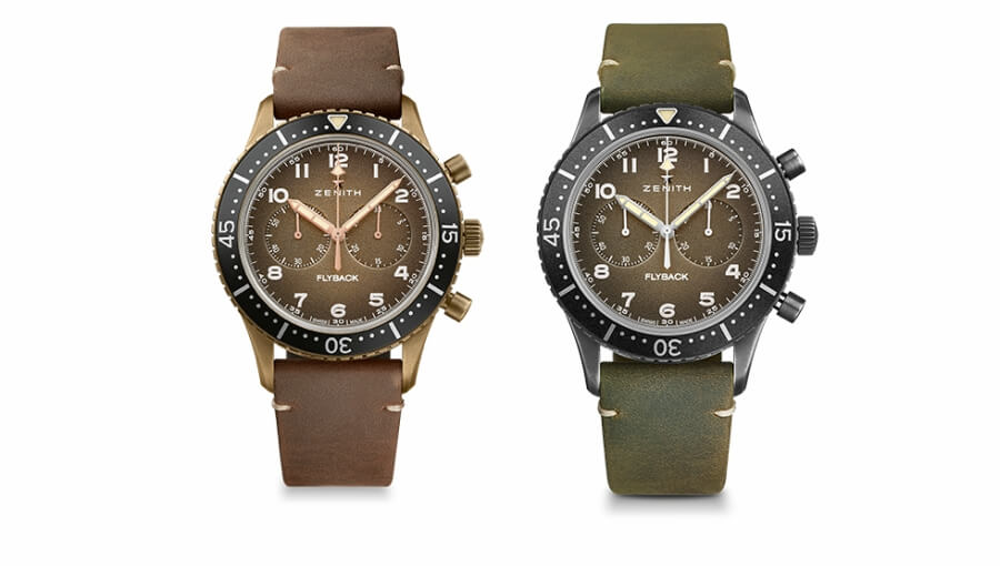 Zenith Pilot Cronometro Tipo Cp-2 Flyback Review