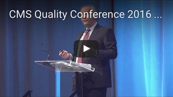 Video overview of the plenaries and reflections from Day 1 of the 2016 CMS Quality Conference.