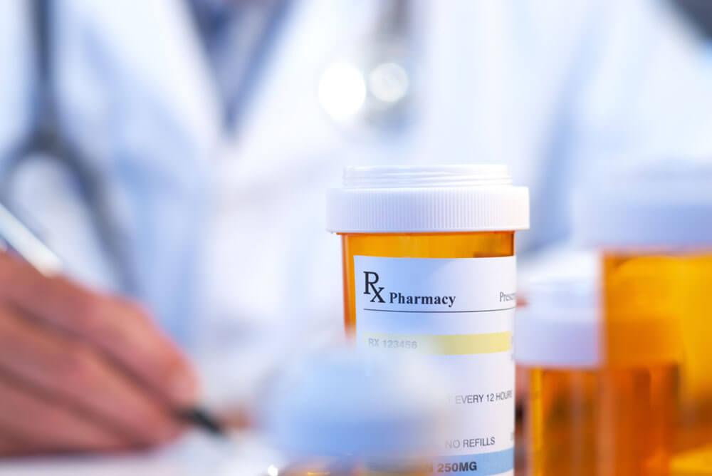 Image of prescription bottles