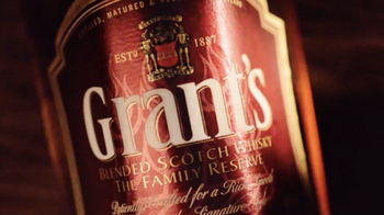 Grant's whisky video