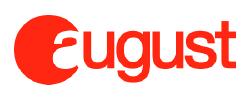 august hardware startup logo