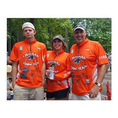 champan high fishing team photo
