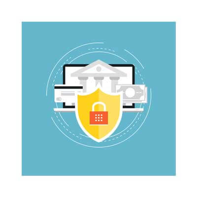 GLBA compliance protected banking image