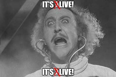 gene wilder young frankenstein it's alive