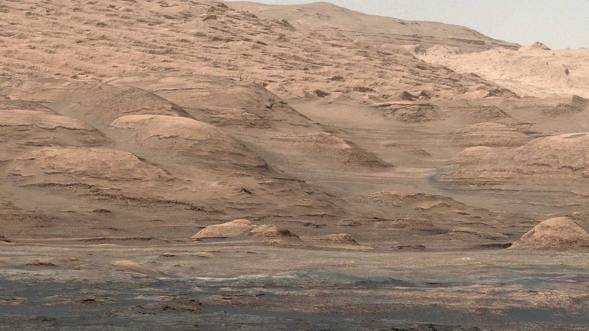 Pilcrow view of Mars