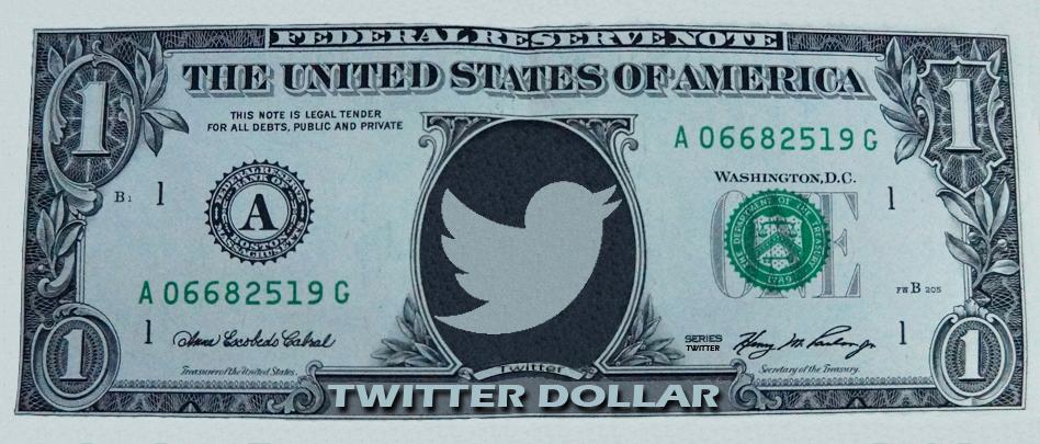 Pilcrow Twitter Dollar