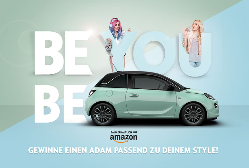 Opel launcht Sponsoring Kampagne 'BE YOU. BE ADAM' bei 'Germanys next Topmodel' 2017 mit MRM//McCann.