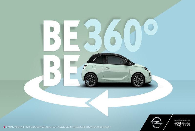 Opel launcht einzigartiges 360° Grad-Musikvideo – Konzept von MRM//McCann, Umsetzung SevenOne AdFactory