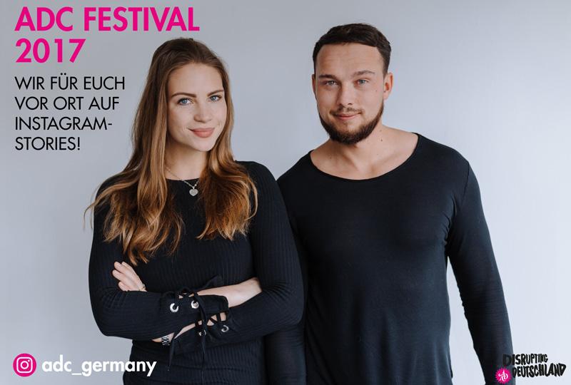 ADC Festival 2017: Junge Talente geben exklusive Einblicke über die ADC Social Media Präsenzen