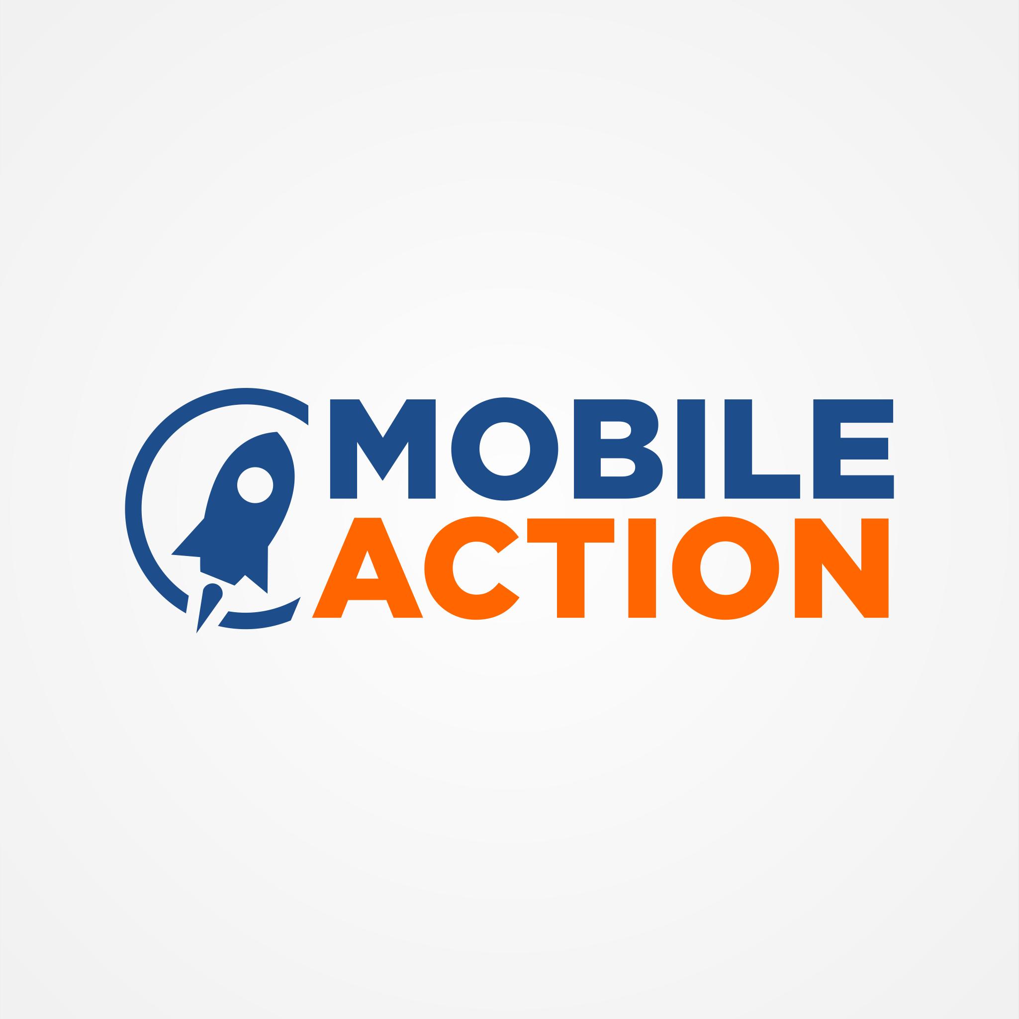 mobile action logo ordia creative