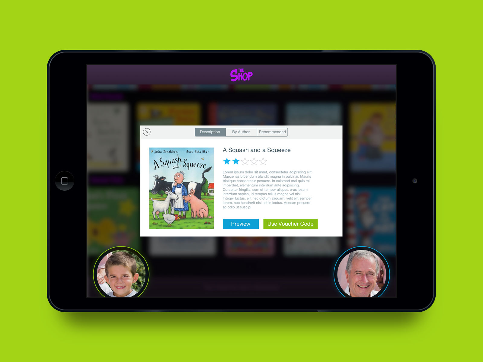 Far Far Away app in iPad. View book descriptions, purchase or download previews.Interactive book and video chat.