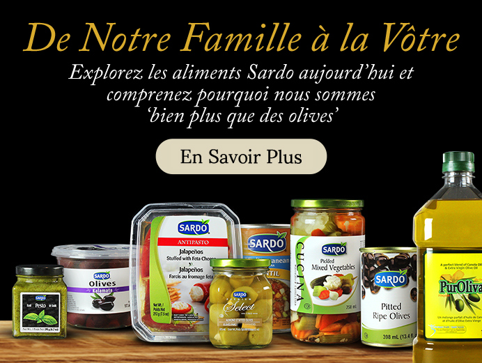 """Click to explore why we're """"More than just olives""""."""