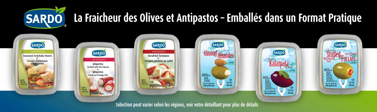 Click for Deli Table Olives & Antipasti.