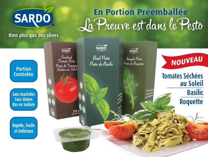 Pre-portioned Pesto. The proof is in the Pesto. Click to view Sardo Pesto.
