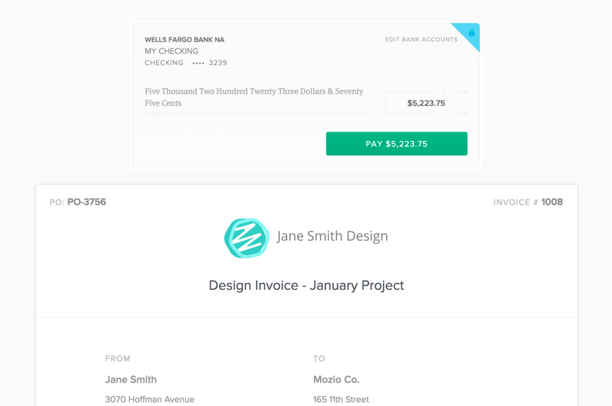 the #1 freelance product suite - bonsai, Invoice templates