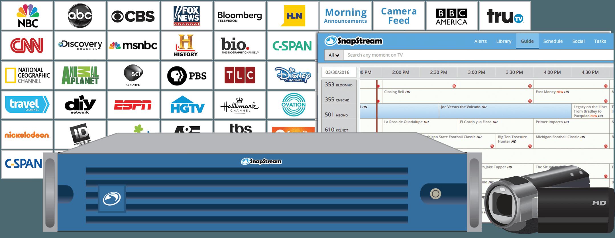 SnapStream EDU: Stream TV to the Classroom