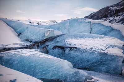 Glacier walk and south Iceland