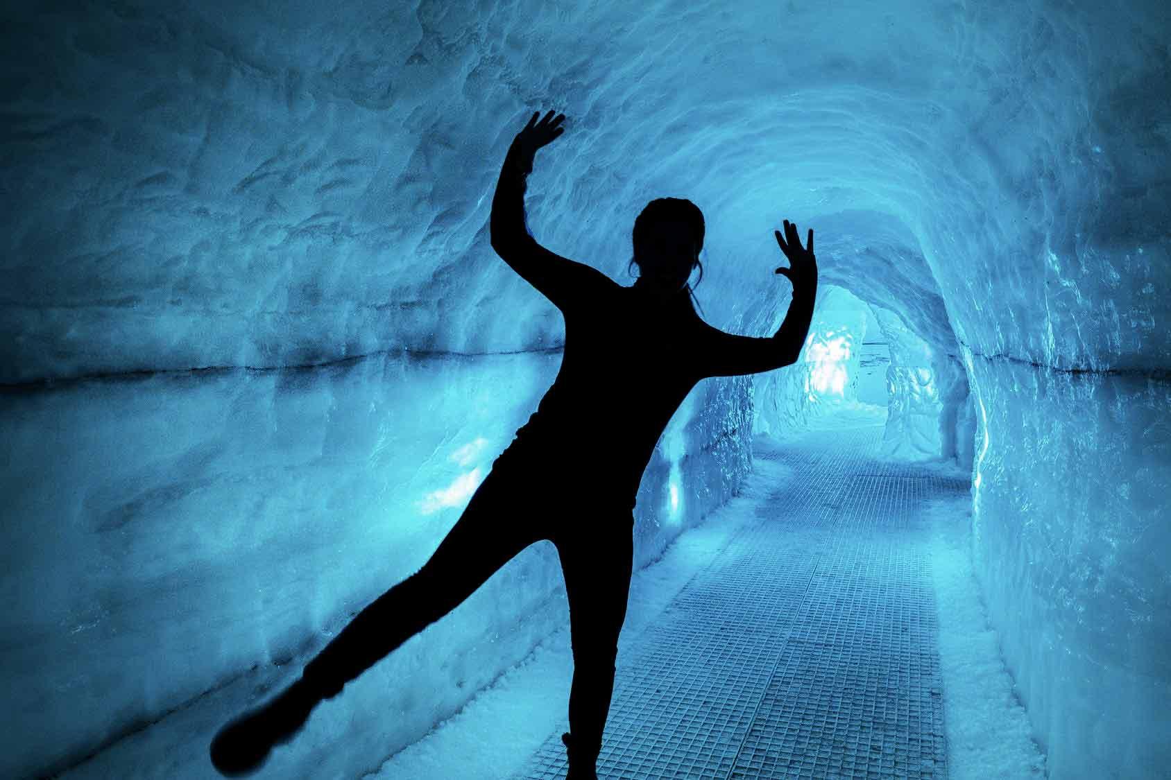 Perlan Ice Cave Exhibition