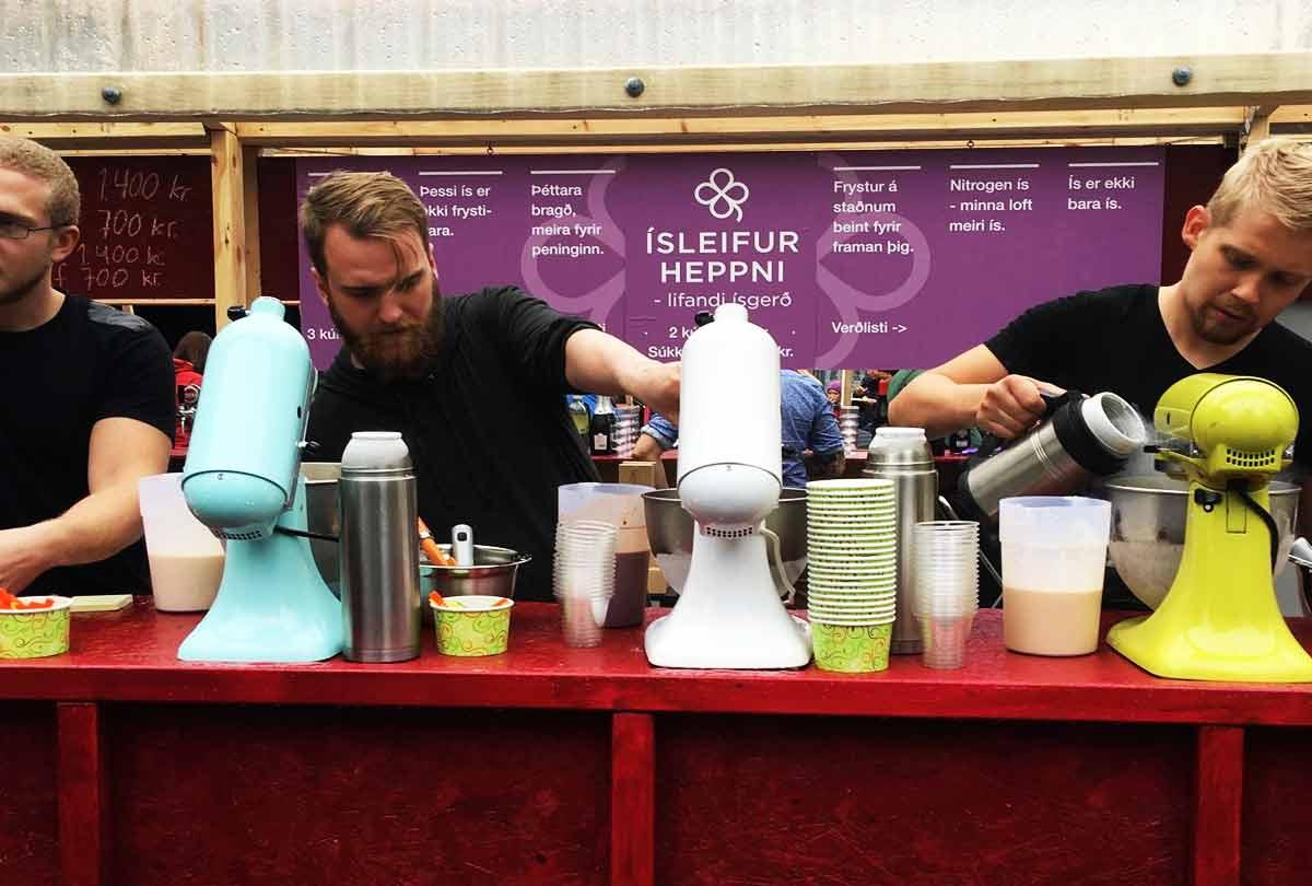 Ísleifur heppni icecream café