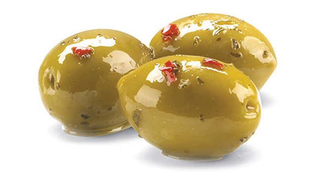 Whole Calabrese Style Olives Image