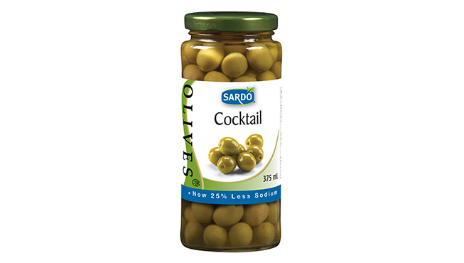 Whole Cocktail Olives 375mL