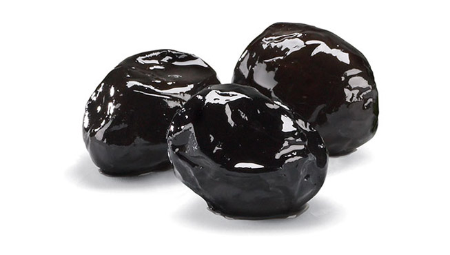Whole Sundried Black Olives Image