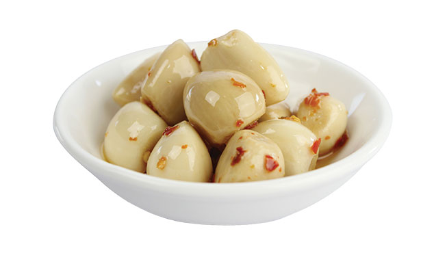 Hot Pickled Garlic Image